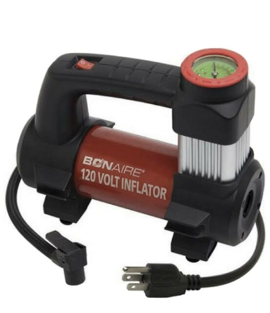 Bon-Aire Inflator Air Compressor 120 Volt 130 PSI Car Sports Equipment BA120B