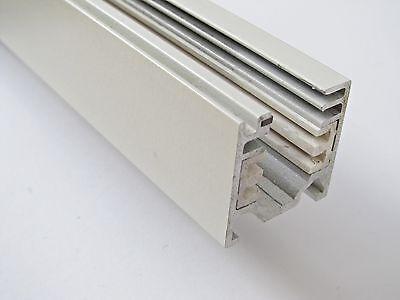 Weißer Leuchtenspot Avo für 3-Phasen-Stromschiene
