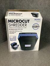 Royal 805mc 8 Sheet Microcut Shredder M55b