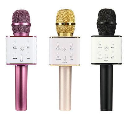 WSTER WS-858 Bluetooth 4.1 Wireless Karaoke Inbuilt Hi-fi Speaker Microphone