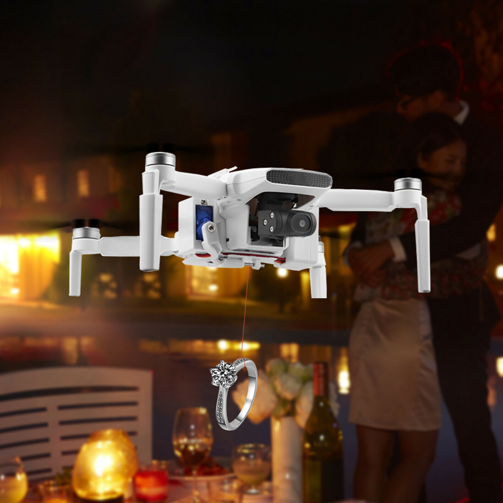 Airdrop System Thrower Payload Release Delivery Device for FIMI X8 MINI Drone