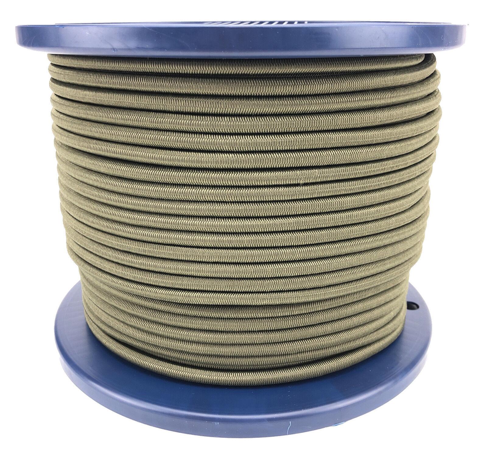 5mm Olive Elastischer Gummizug Seil X 50 Meter, Krawatte Unten Heavy Duty   | Zu verkaufen  | Verschiedene Arten Und Die Styles  | Vielfältiges neues Design
