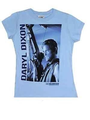The Walking Dead Daryl Dixon Moonshine Racerback Walker Juniors Tank Shirt S-Xxl