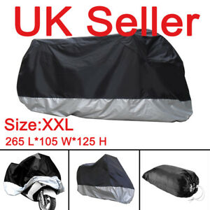 XXL-Waterproof-Motorcycle-Motorbike-Rain-Sun-UV-Cover-Breathable-storage-bag