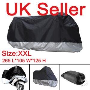 XXL-Waterproof-Motorcycle-Motorbike-Rain-Sun-UV-Cover-Breathable-storage-bag