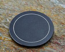 One 72mm Generic Metal Screw In Front Lens Cap Nikon Canon Minolta Pentax #1105