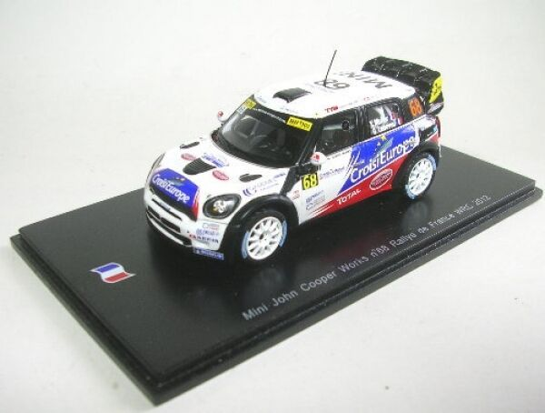 Mini John Cooper works no. 68 rally France wrc 2012