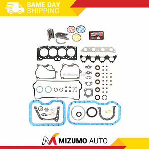 Engine-Re-Ring-Kit-Fit-93-97-Toyota-Celica-Corolla-Geo-1-8-DOHC-7AFE