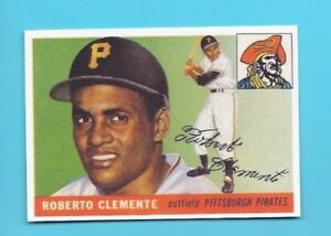 Details About 1955 Topps Roberto Clemente Rookie Card 164 Reprint
