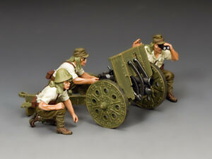 JN045 The Japanese Light Howitzer & Crew by King & Country