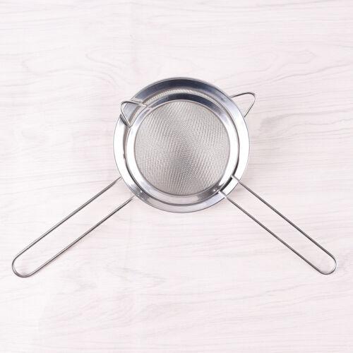Kitchen Stainless Steel Wire Fine Mesh Strainer Flour Colander Sifter Sieve AA