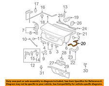 HONDA OEM 06-11 Civic Trunk Lid-Hinge Right 68610SVAA00ZZ