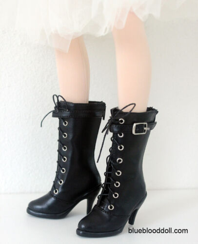 1//3 bjd SD13 SD16 girl doll black high-heel boots Supia Smart feeple luts S-113