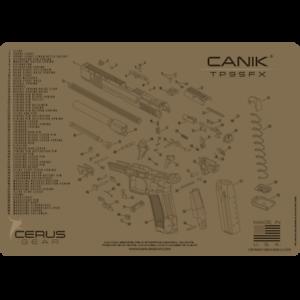 For CANIK® TP9SFX SCHEMATIC PROMAT Handgun Gun Cleaning Mat Cerus on handgun illustrations, handgun concepts, handgun blueprints, handgun accessories, handgun drawings, handgun diagrams, handgun information, handgun safety, handgun power, handgun prototypes, handgun dimensions, handgun components, handgun parts,