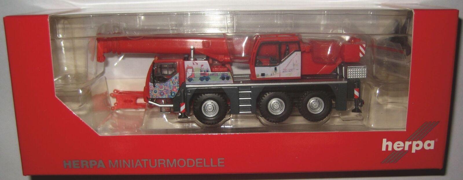 Herpa 309110 Liebherr LTM 1045 1 grue mobile Scholpp kinderkran 1 87 voie HO