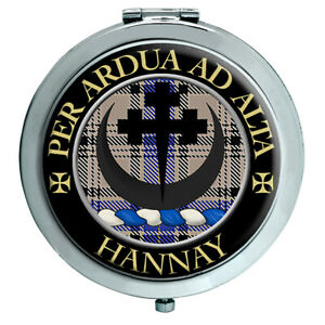 Hannay-Scottish-Clan-Compact-Mirror