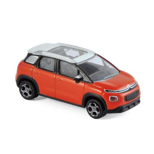 ° Norev 310807 citroen c3 aircross naranja//blanco 2017 escala 1:64 coche modelo nuevo