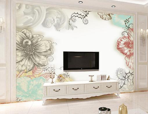 3D Pretty Art Lace 868 Wall Paper Murals Wall Print Wall Wallpaper Mural AU Kyra