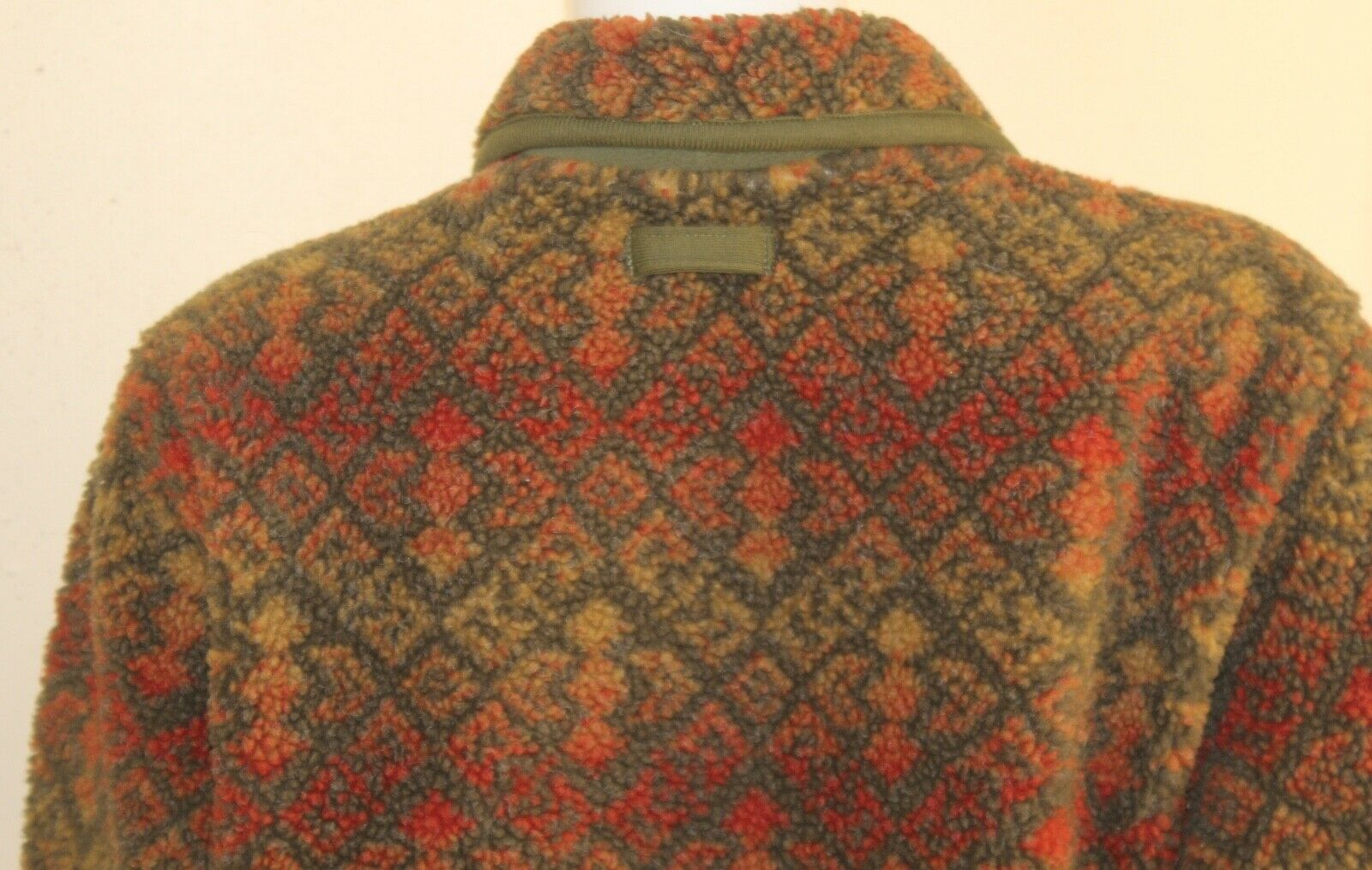 ORVIS -Sz M Lux Deep Pile Fleece Printed Art-to-W… - image 8