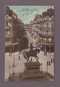 Orleans - Der Martroi - Die Straße La République (H1723)
