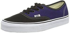 VANS-Authentic-Women-039-s-Shoes-2Tone-Black-Patriot-Blue-Unisex-Sneakers-00AIGEH