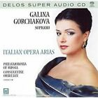 Italian Opera Arias Super Audio Hybrid CD (CD, Feb-2002, Delos)