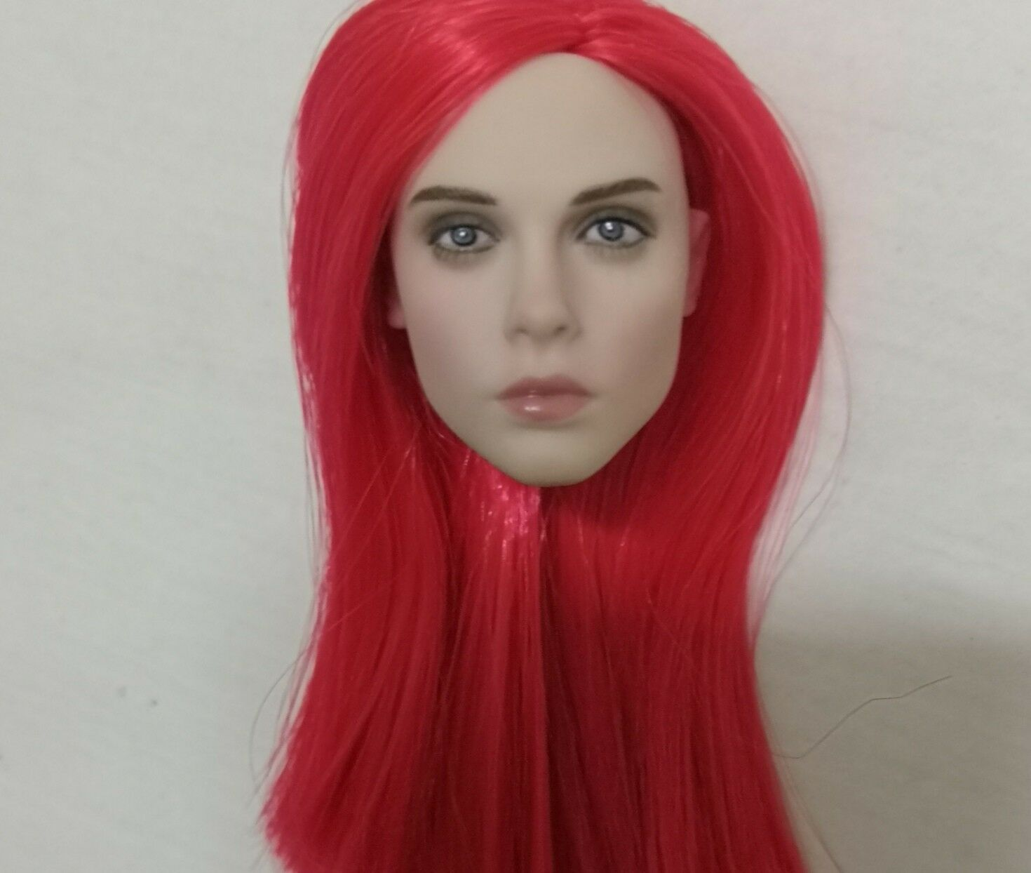 1 6 Female Head Sculpt Head Carving Carving Carving Red Hair Fit 12  Phicen Action Figure Body b32d45