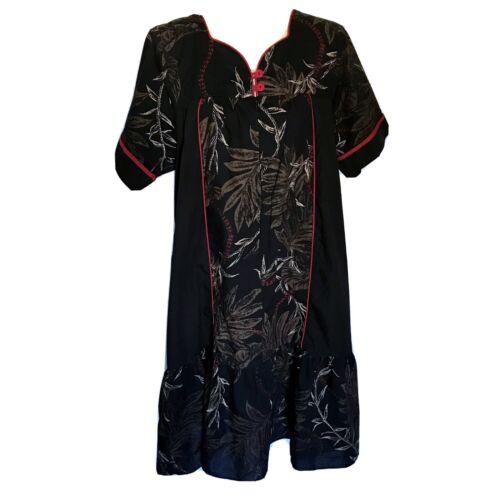 Hawaiian Floral Lounging Dress L/XL