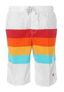 Das Bild wird geladen K4639-Shiwi-Herren-Badeshorts-Shorts-Badehose- Boardshorts-Streifen-
