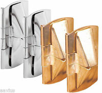 Prime-l Double Hung Wood Window Flip Lock Mounts Wedge For Vent Open 2 Pack
