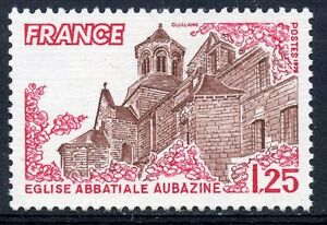 STAMP-TIMBRE-FRANCE-NEUF-N-2001-EGLISE-AUBAZINE