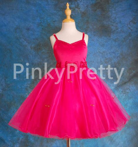 50/% OFF SALE Wedding Flower Girl Bridesmaid Party Communion Dresses Sz 2-12y 050