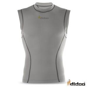 Mens-Compression-Base-layer-Running-Sleeveless-shirt-Top-Long-tight-Pants