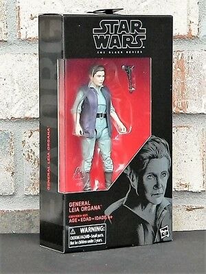 """General Leia Organa #52 The Black Series 6/"""" Wave 13 Last Jedi Star Wars Figure"""