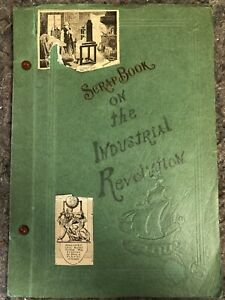 Extremely-Detailed-1937-Scrapbook-on-Industrial-Revolution-1730-1937