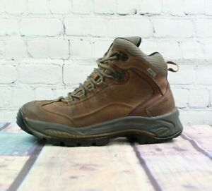 Vasque Men's Brown Leather Lace up Goretex Hiking Boots Size 9