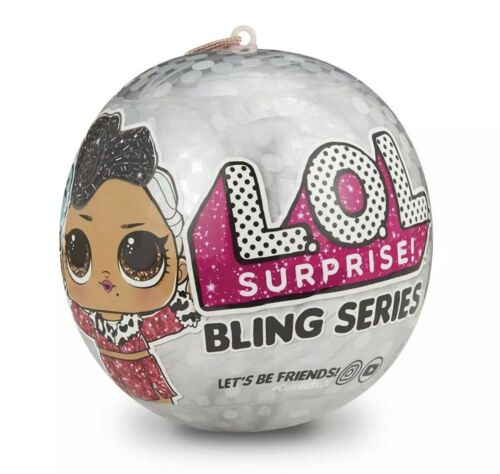 LOL Surprise Bling Series Doll Silver L.O.L Surprise Bling Big Sister Ball