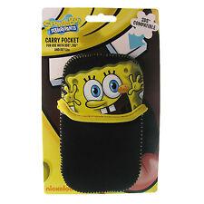 Nintendo DS Case Spongebob Squarepants Black Carry Gaming Yellow DSi 3DS