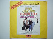 Renaud 45Tours SP vinyle Viens Chez Moi J'Habite Chez Une Copine