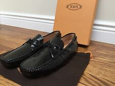 Tod's Laccetto My Colors Gommini 122 Men 6/7US Black Moccasins