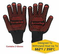 Sth001 Bbq Gloves, Oven Gloves, Grill Gloves, Cooking Gloves, Bbq Grill Oven ...