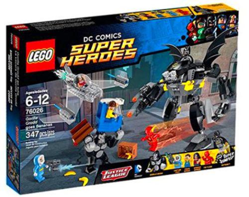 Lego DC Comics 76026 - Gorilla Grodd goes Bananas  RETIRING SET -NEW & SEALED
