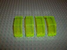 Lego 2466 Panel Cockpit 3x2x6 Trans Neon Green