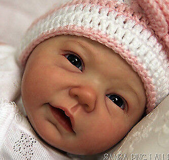 SANSA @ New Reborn Baby Doll Kit By Ping Lau  @20 @Vinyl Doll Parts Only