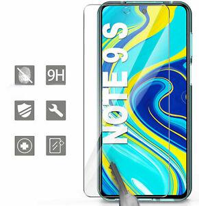 Verre Trempé Pour Protection Ecran Vitre Xiaomi Redmi Note 9S 9 Pro 9 Pro Max FR