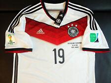 GÖTZE DFB Deutschland Trikot Germany Jersey Home Shirt WM Finale 2014 M L XL