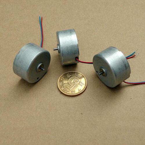 Nidec RF-300CA Solar Power Motor DC 5V 6V 9V 6500RPM Mini 24mm Small Round Motor