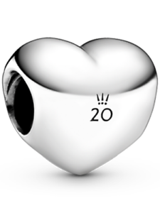 Details about PANDORA 2020 Limited Edition Heart Charm (20th Anniversary  4th April Charm) New