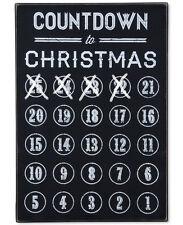 "Macy's Primitives by Kathy Chalk Countdown Christmas Circles Advent Calendar 15"""