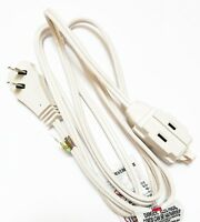 GE 50360 Wall Hugger Extension Cord (6 Feet) Power Cable